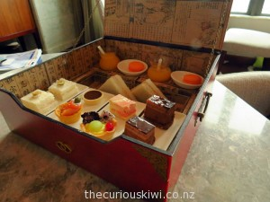 Afternoon tea for two at Club Sofitel in Macau