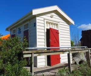Jail toilets in Ongaonga, Hawkes Bay