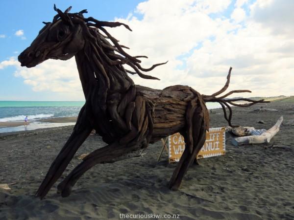 Driftwood horse by Jack Marsden Mayer