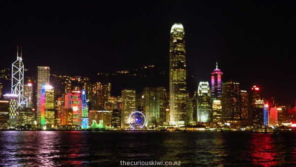 See 'A Symphony of Lights' show for free every night in Hong Kong