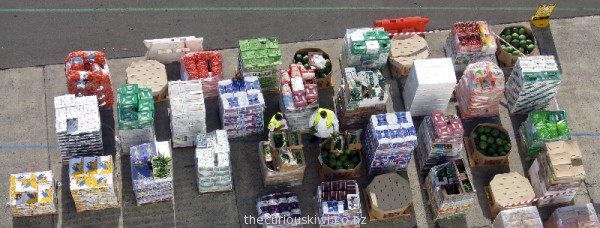 Organising food for the Pacific Pearl