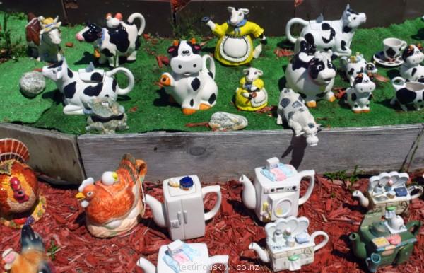 Teapot Land in Owaka