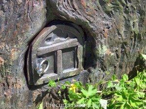 Fairy door in the Restless Forest