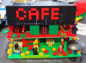 Lego Cafe at Imagination Station