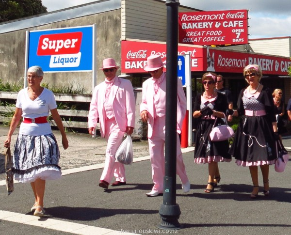 Dressed up for Waihi Warm Up