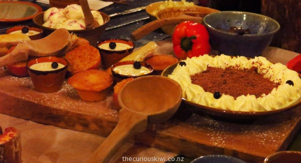 Dessert - Evening Banquet Tour at Hobbiton