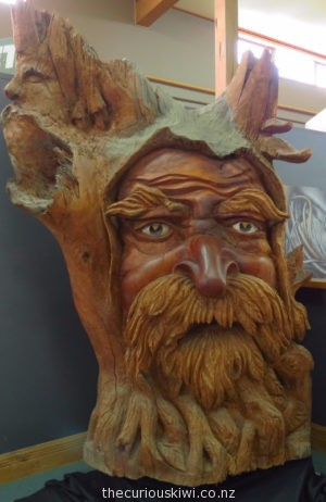 Old Father Time at Ancient Kauri Kingdom