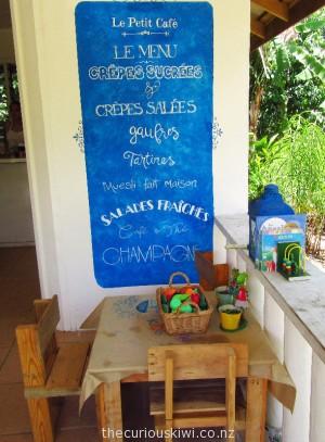 Play space at Le Petit Cafe, Apia, Samoa