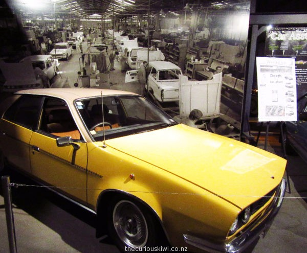 1980 Austin Princess assembled in Nelson, at the World of WearableArt & Classic Cars Museum