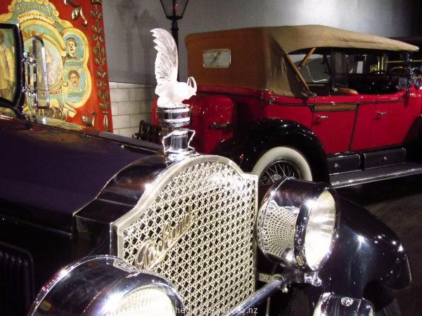 Hood ornament on a 1927 Packard
