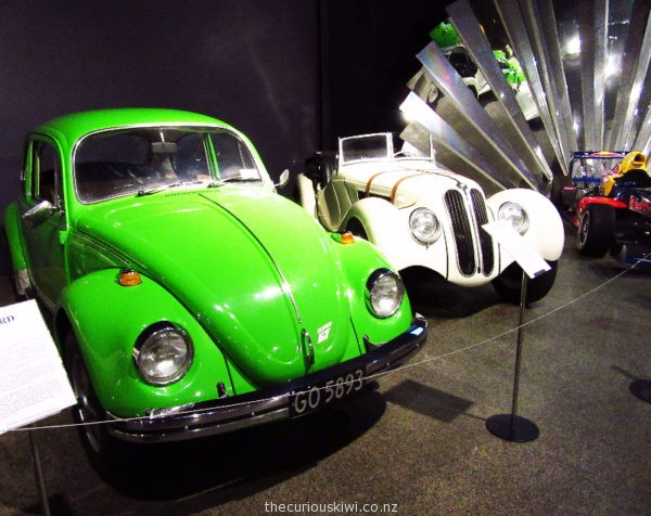 1970 GT Beetle in Apple Green and 1937 BMW 348