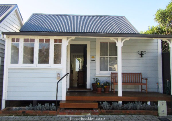 Harriett's Cottage, No. 13 South Street in Nelson (built in 1863)