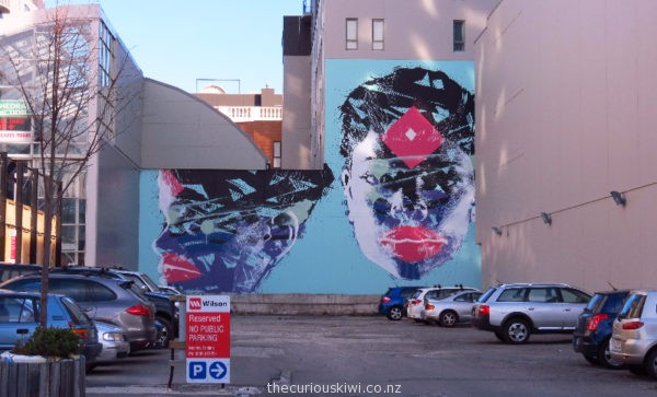 Christchurch Street Art by Askew