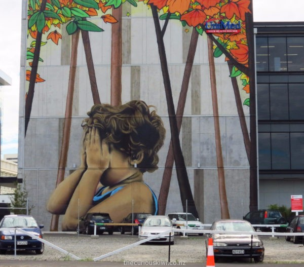 Christchurch Street Art by Wongi Wilson