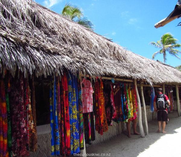 Mystery Island Market - Vanuatu