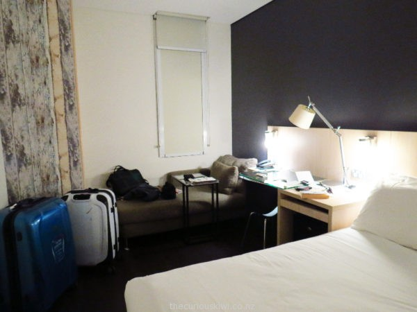 Superior room at ibis Sydney King Wharf