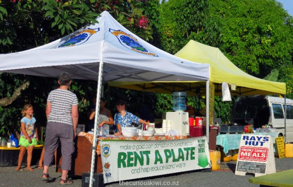 Rent a plate at Muri Night Market