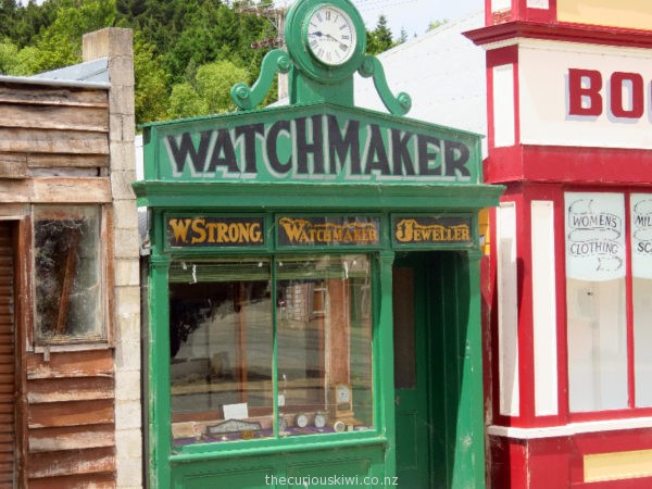 Naseby Watchmakers Shop
