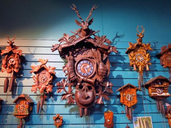 Cuckoo clocks at Clapham Clocks Museum