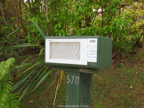 Microwave letter box