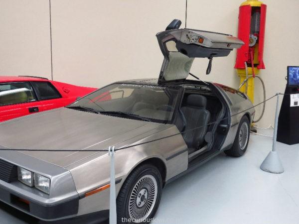 1981 DeLorean DMC-12 at Southward Car Museum