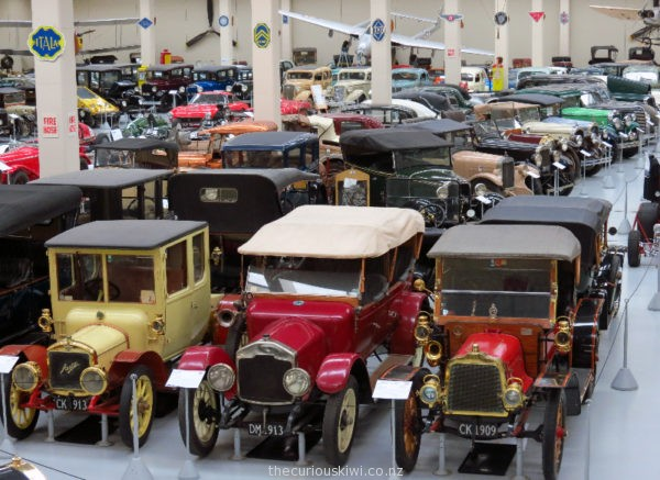 Southward Car Museum from above