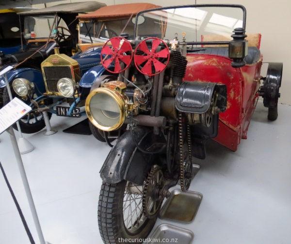 1912 Phanomen Phanomobil at Southward Car Museum