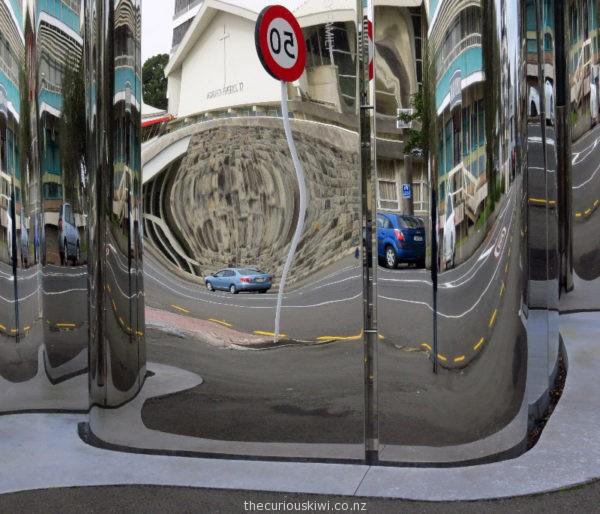 Reflections up close - Len Lye Centre