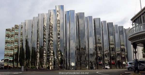 Exterior of Len Lye Centre/Govett Brewster Gallery