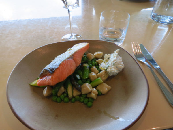 Mt Cook salmon at Brancott Estate