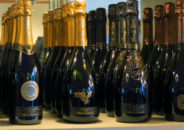 Sparkling wine named after the family - Virginie Cuvee and Adele Cuvee