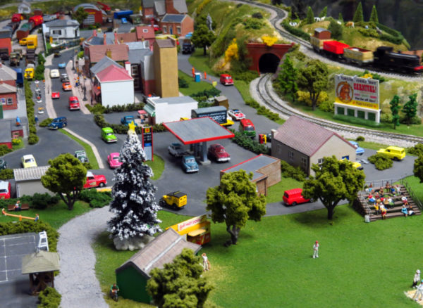 Model train set at The Toy Collector