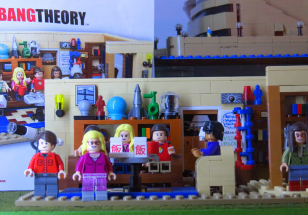 LEGO Big Bang Theory set at The Toy Collector