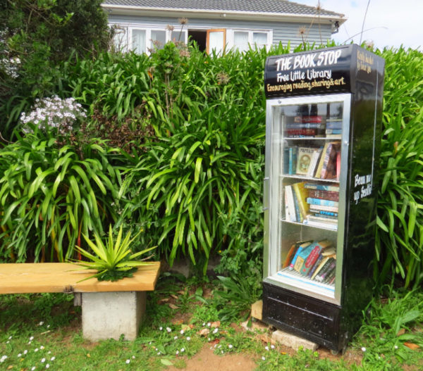 The Book Stop - Free Little Library in Mt Roskill