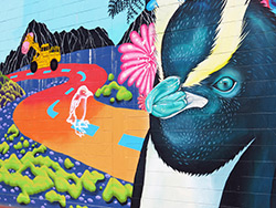 Napier Street Art – Sea Walls: Murals for Oceans