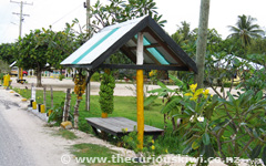 Banana Bus Stop in Manase