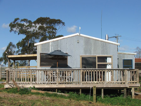 Cassie's Farm Woolshed Accommodation