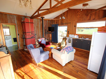 Cassie's Farm Woolshed Accommodation - Kitchen