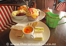 Chateau Tongariro High Tea