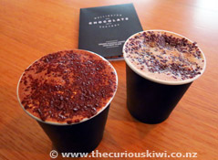 Hot Chocolate at the Wellington Chocolate Factory