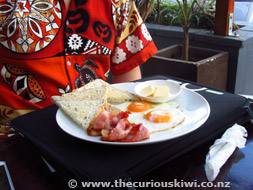 Bacon & Eggs at Coffee Post