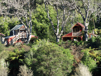 Cottages at The Flying Fox, Whanganui River