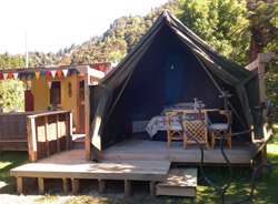 Glamping at The Flying Fox, Whanganui River