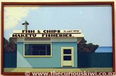 Fish and Chips, Maketu by Robin White
