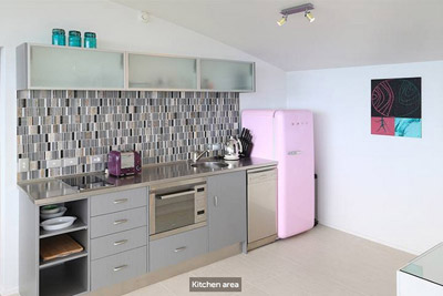 The Nikau Loft - Kitchen