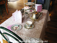 The Old Creamery - high tea setting