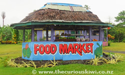 Road side stall on Savaii