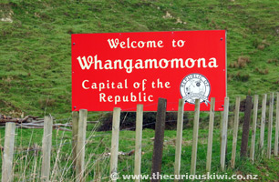 Welcome to Whangamomona, Capital of the Republic