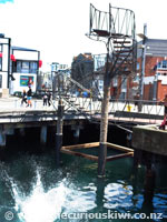 Wellington diving platform