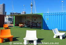 Eat lunch at Wynyard Quarter